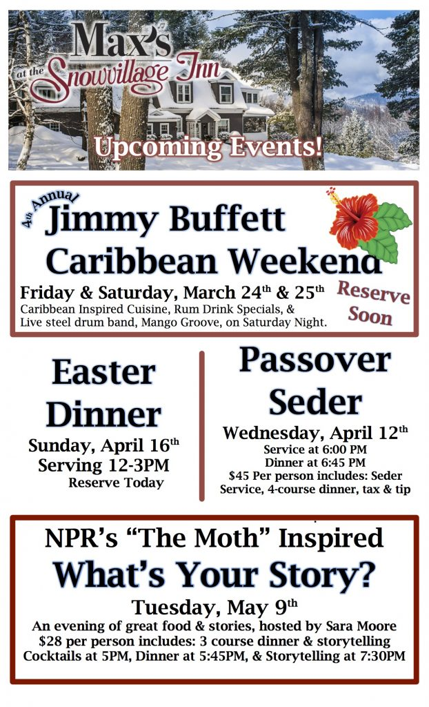 Jimmy buffett, The moth, what's your story, Nh restaurant week, dining out in Conway nh, the woodshed nh, the woodshed restaurant moultonboro nh, special occasion restaurant, romantic dinner for two, romantic dinner, Peter willis, dining in conway nh, north conway nh, valley originals, farm to table, locally sourced, fine dining in conway nh, places to eat, pub food, martini bar, whiskey bar, rye bar