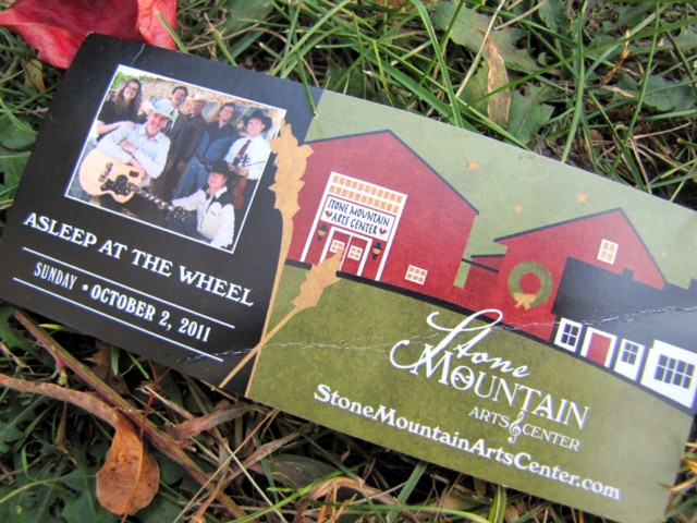 Live Music Packages with Stone Mountain Arts Center