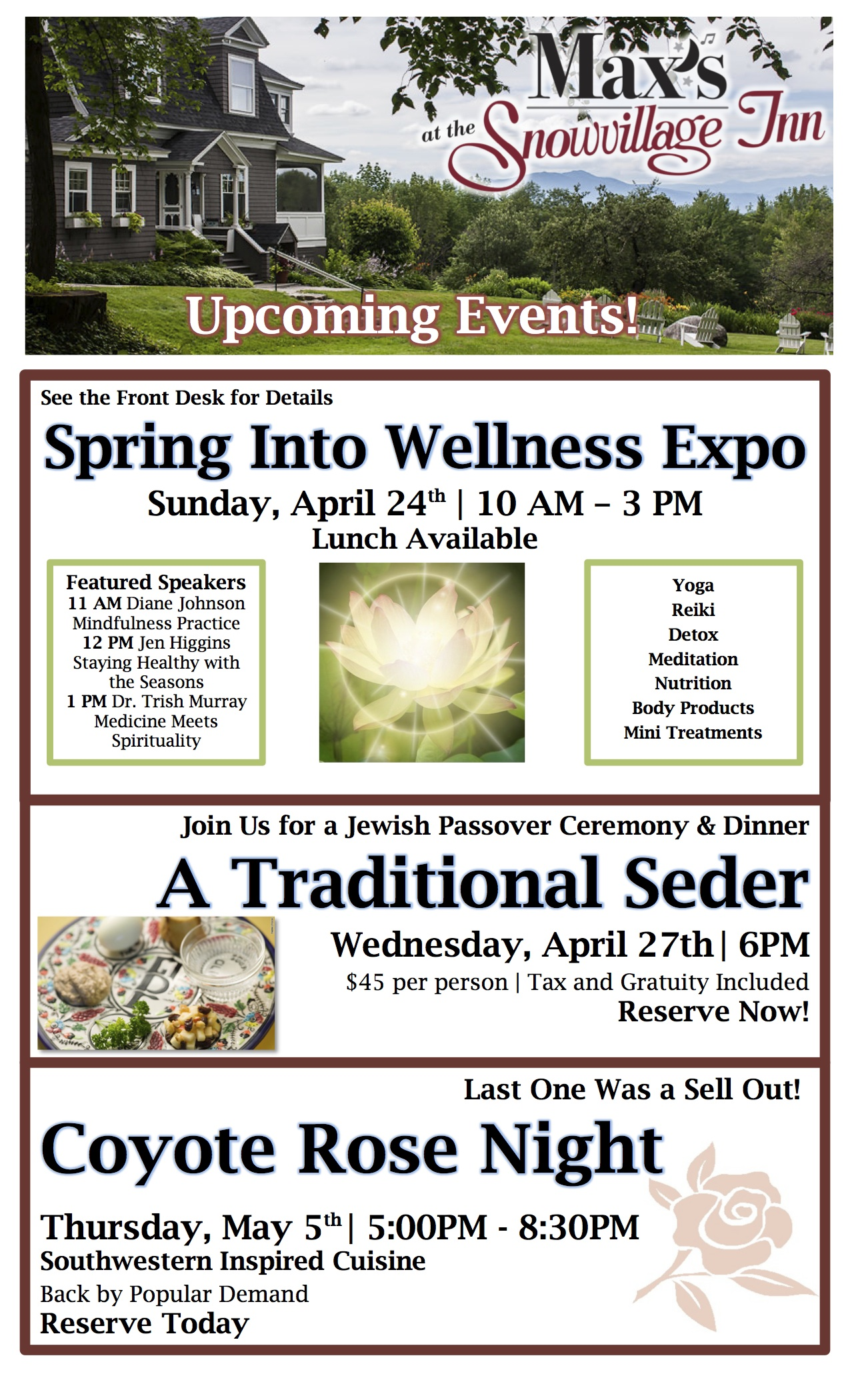 Awesome Upcoming Events, Things to do, upcoming events, dining out in Conway nh, the woodshed nh, the woodshed restaurant moultonboro nh, special occasion restaurant, romantic dinner for two, romantic dinner, Peter willis, dining in conway nh, north conway nh, valley originals, farm to table, locally sourced, fine dining in conway nh, places to eat, pub food, martini bar, whiskey bar, rye bar