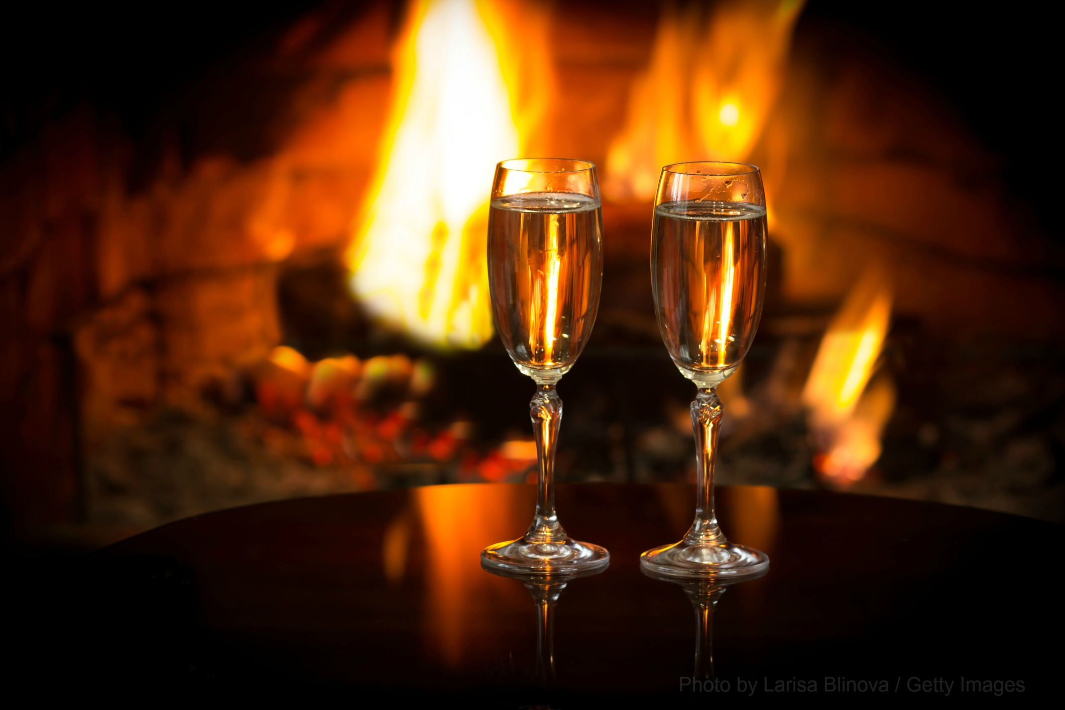 A Romantic New Year's Eve with Snowvillage Inn